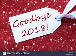 GOOD BYE 2018